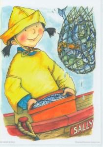 Big Wide World Fishergirl