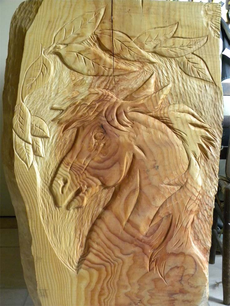 Wood Carving | Illustrated Wood