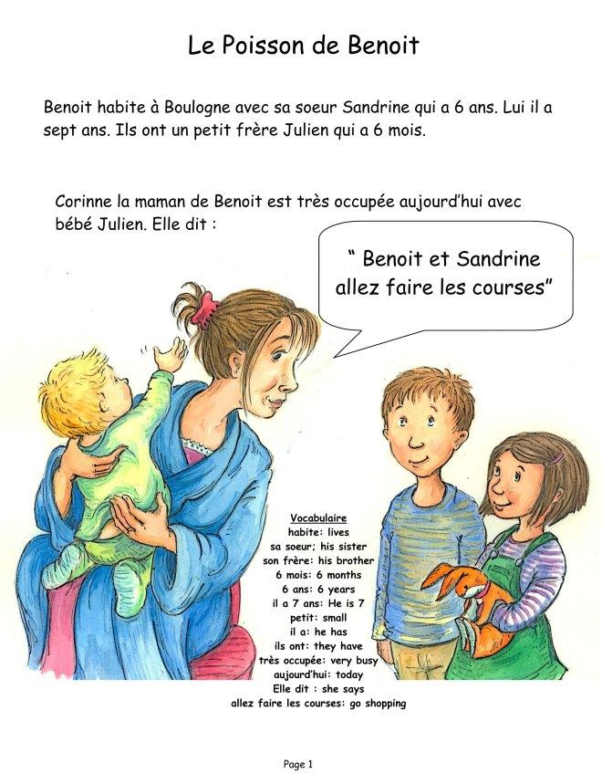 Le Poisson de Benoit Edited version