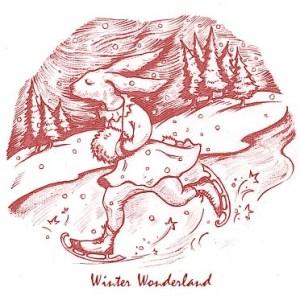 winter Wonderland in red