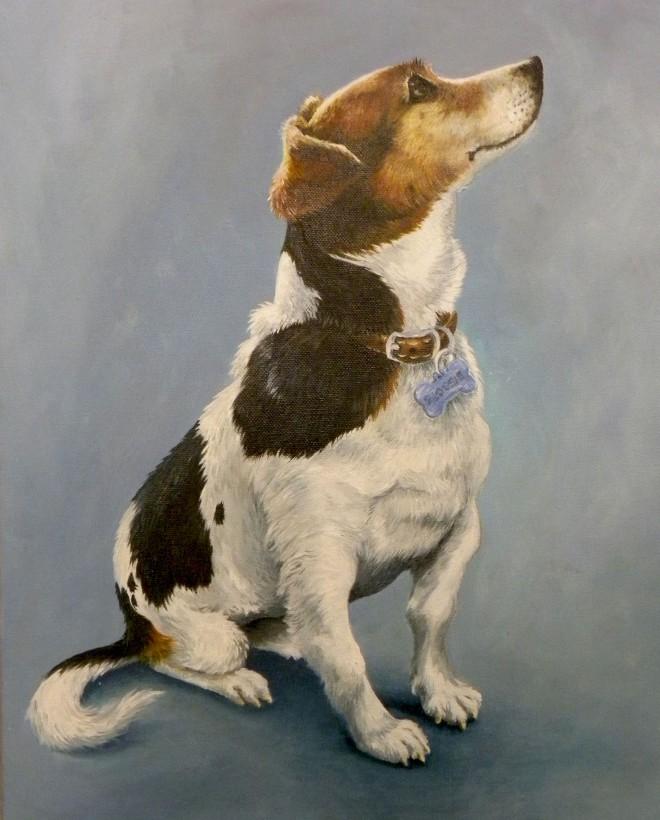 Flossie portrait 1